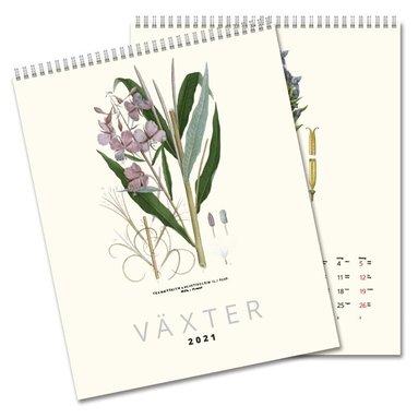 Väggkalender 2021 Växter 1