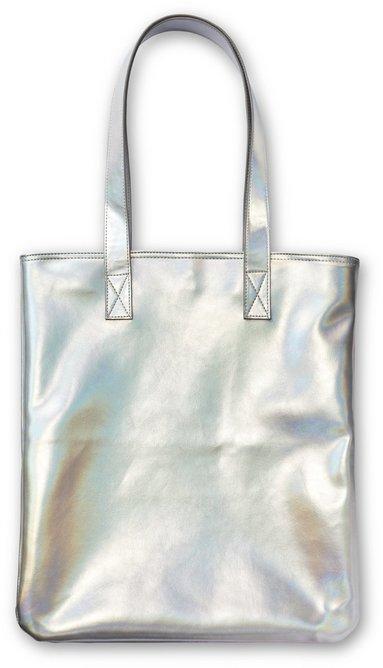 Kasse Metallic syntet silver