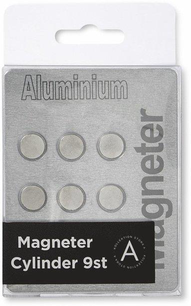 Magnet cylinder aluminium 9-pack 1