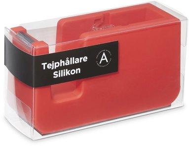 Tejphållare silikon röd 1