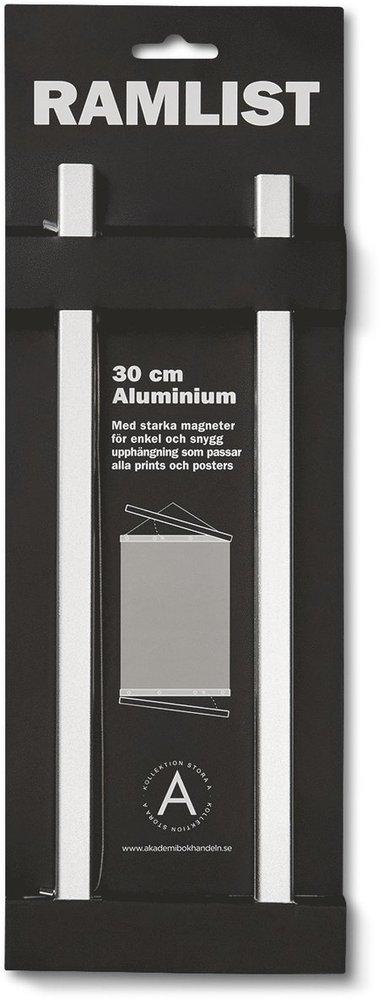 Ramlist 30cm aluminium silver 1