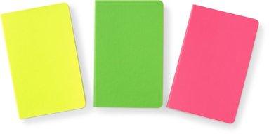 Anteckningsbok A6 Neon 3-pack 1