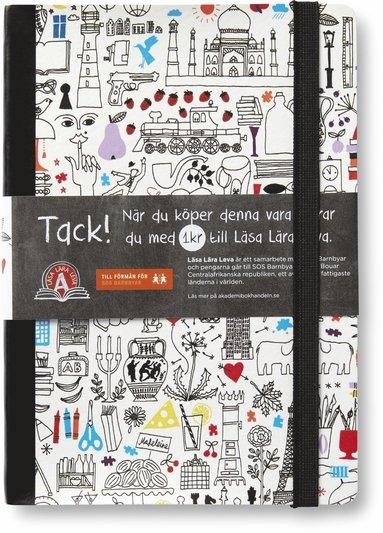 Anteckningsbok A5 Akademibokhandelns Vänner olinjerad 96 blad 1