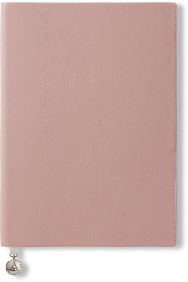 Anteckningsbok A5 linjerad mjuk rosa 1