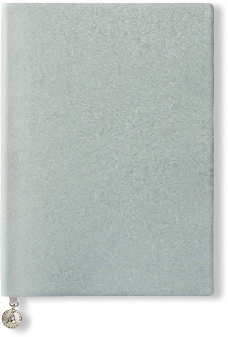 Anteckningsbok A5 linjerad mjuk pärm ljusgrön 1
