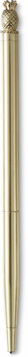 Kulspetspenna Metallic ananastopp guld