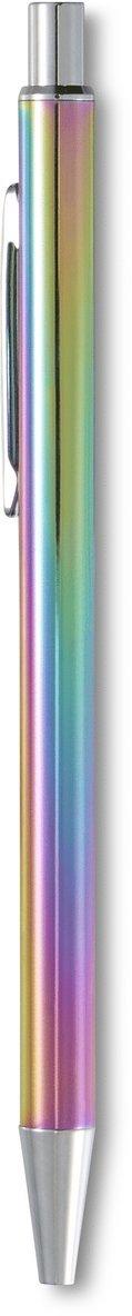Kulspetspenna Metallic regnbåge