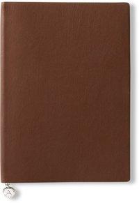 Anteckningsbok A5 linjerad mjuk pärm cognac