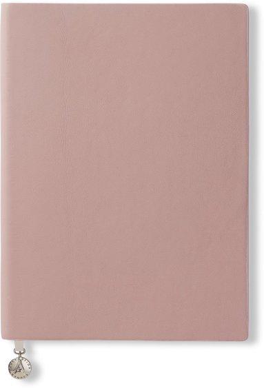 Anteckningsbok A5 olinjerad mjuk pärm, rosa