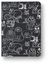 Anteckningsbok A6 linjerad mjuk pärm Lisa Larson katt