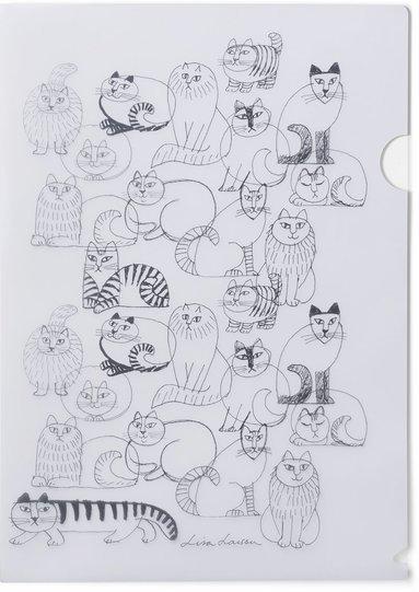 Mapp A4 Lisa Larson katt