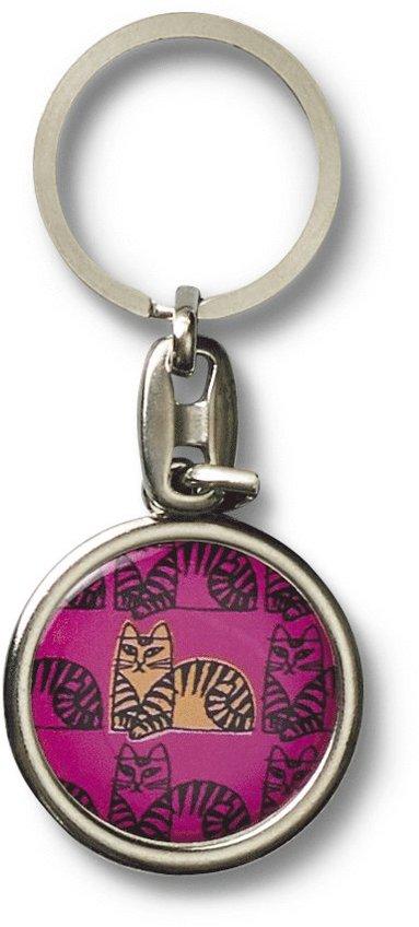 Nyckelring Lisa Larson katt rosa 1