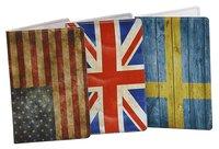 Kortfodral Plånka Flaggor