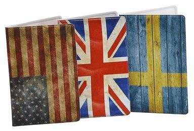 Kortfodral Plånka Flaggor 1