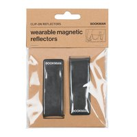 Reflex clip-on 2-pack svart