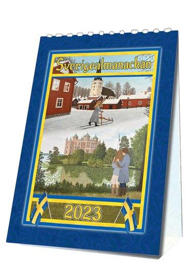 Sverigealmanackan A6 2019 bordskalender