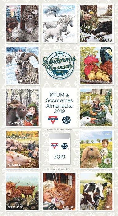 Väggkalender 2019 KFUM & Scouternas almanacka