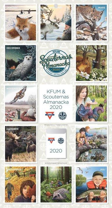 Väggkalender 2020 KFUM & Scouternas almanacka