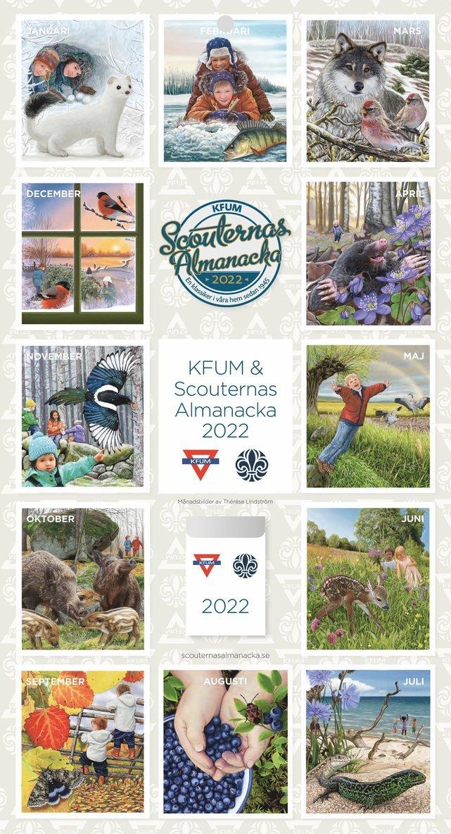 KFUM & Scouternas Almanacka 2022 1