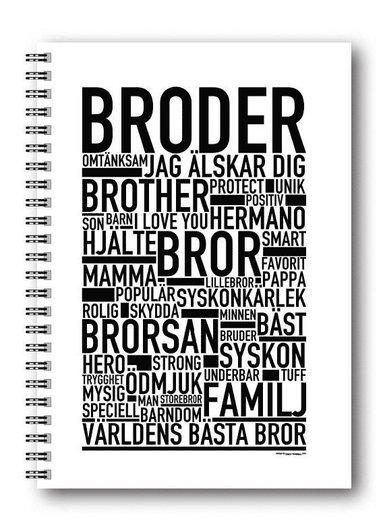 Spiralblock A5 Wallstars Broder