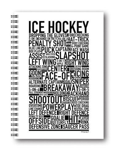 Spiralblock A5 Wallstars Ishockey