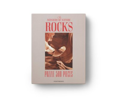 Pussel 500 bitar Rocks