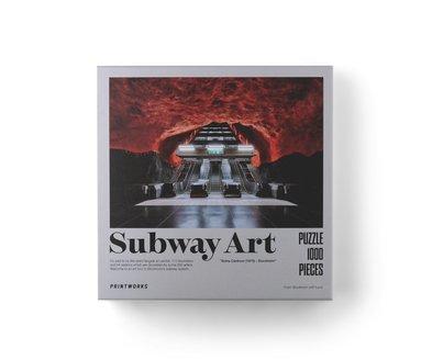Pussel 1000 bitar Subway Art Fire 1