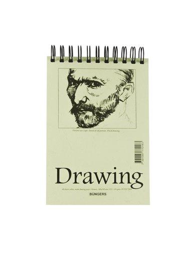 Teckningsblock A5 135g 40blad