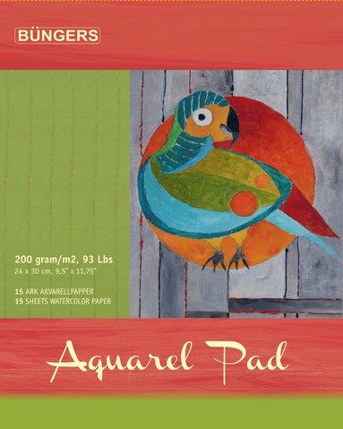 Akvarellblock 30x24cm 15 ark