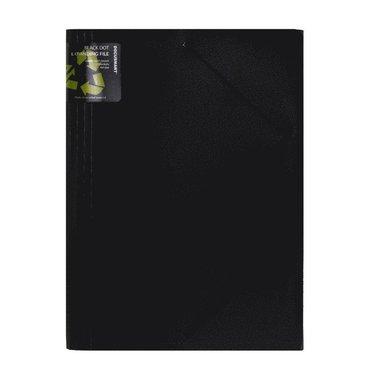 Hemarkiv A4 13flik svart