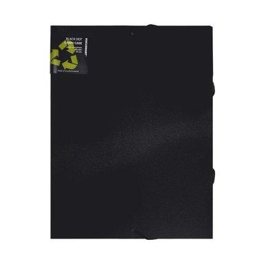 Dokumentmapp A4 svart