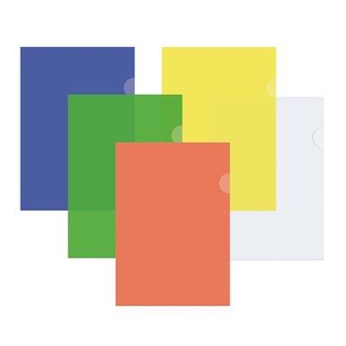 Aktmapp A4 0,12mm 10 st sorterade färger