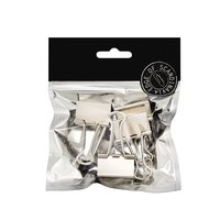 Pappersklämma 32mm 5 st silver