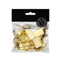 Pappersklämma 32mm 5 st guld