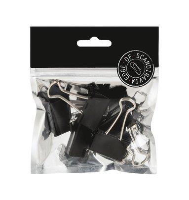 Pappersklämma 32mm 5 st svart