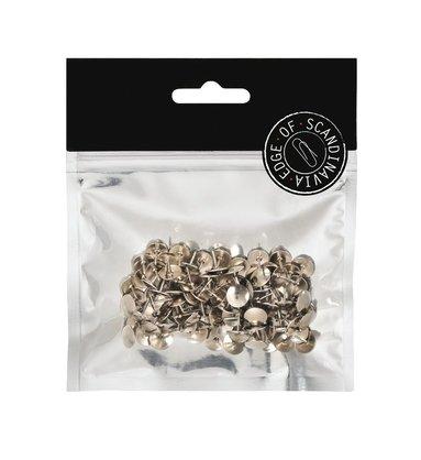 Häftstift 100 st silver