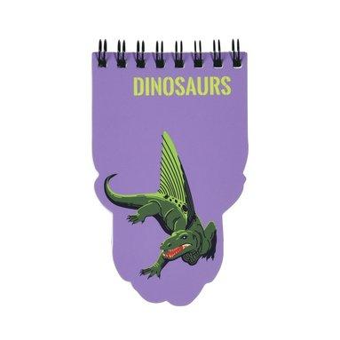 Spiralblock dinosaurier 1