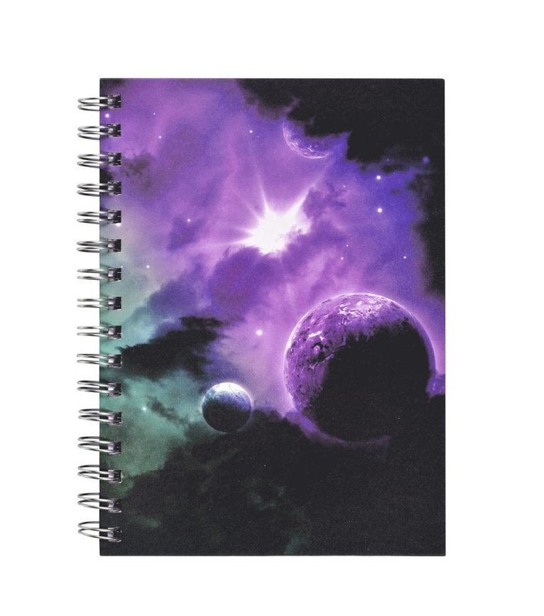 Anteckningsbok A5 spiral Nebulosa 1