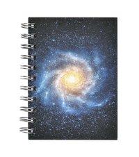 Anteckningsbok A6 spiral Galax