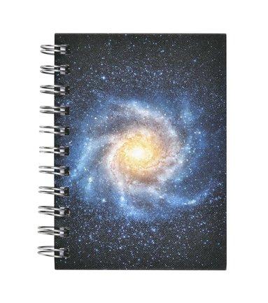 Anteckningsbok A6 spiral Galax 1