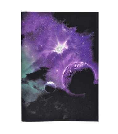 Skrivhäfte A4 Nebulosa 1