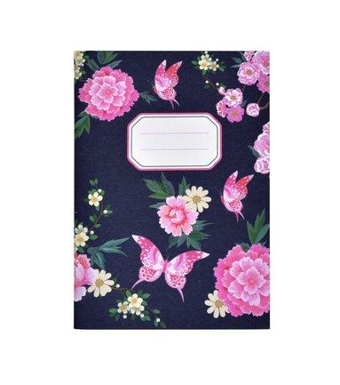 Skrivhäfte A6 Blossom