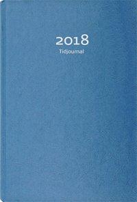 Kalender 2018 Tidjournal blå