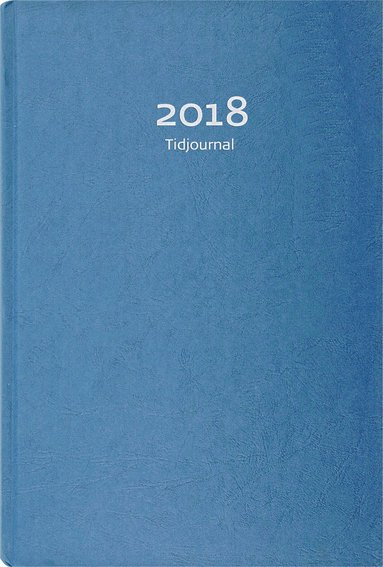 Kalender 2018 Tidjournal blå 1
