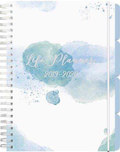 Kalender 2019-2020 Life Planner blue 1