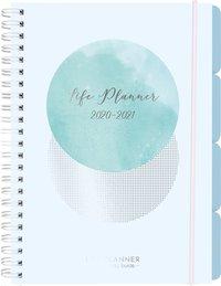 Kalender 2020-2021 Life Planner blue
