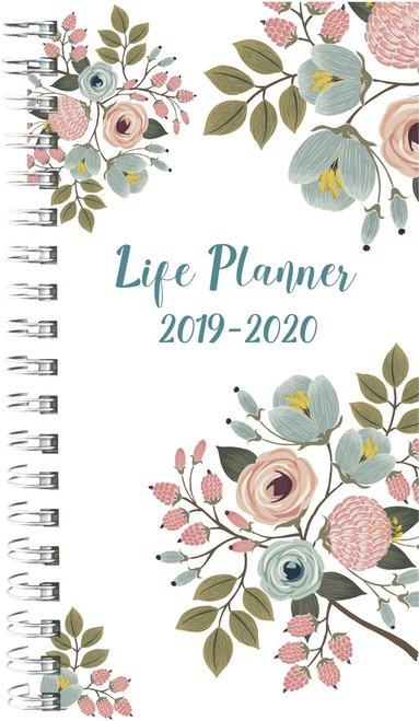 Kalender 2019-2020 Life Planner slim Flower 1