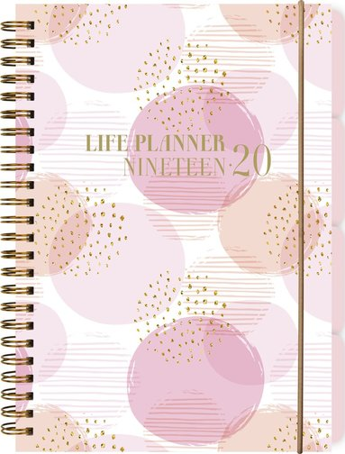 Kalender 2019-2020 Life Planner rosa 1