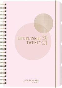 Kalender 2020-2021 A6 Life Planner rosa