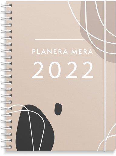 Kalender 2022 A5 Planera mera 1